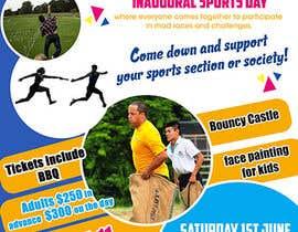 Nro 27 kilpailuun Make a Sports Day Poster - A4 Size käyttäjältä maidang34