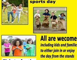 Nro 21 kilpailuun Make a Sports Day Poster - A4 Size käyttäjältä Sumaiyarah
