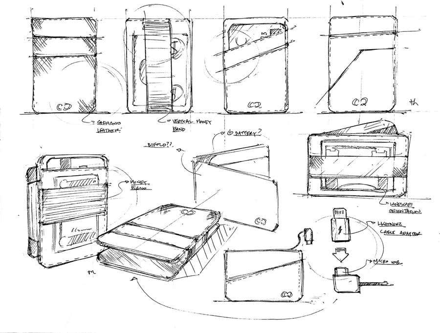 Конкурсная заявка №15 для Looking for industrial designer to design NEW slim wallet for mans