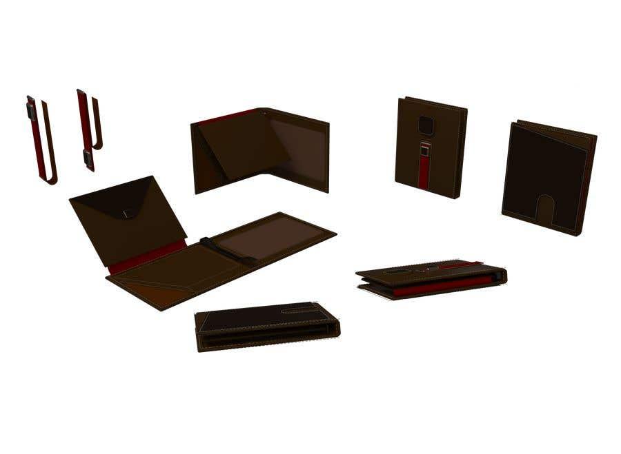 Конкурсная заявка №7 для Looking for industrial designer to design NEW slim wallet for mans