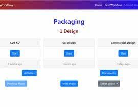 "nº 3 pour JavaScript for ""creative"" Display of a ""Workflow"" par jjgcastillo"