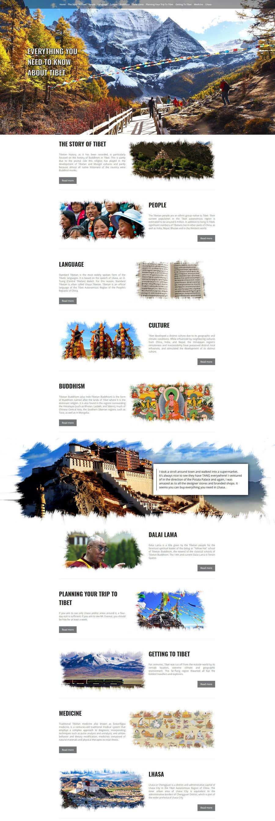 Inscrição nº 15 do Concurso para Zbuduj stronę internetową - Design the main page for the website.