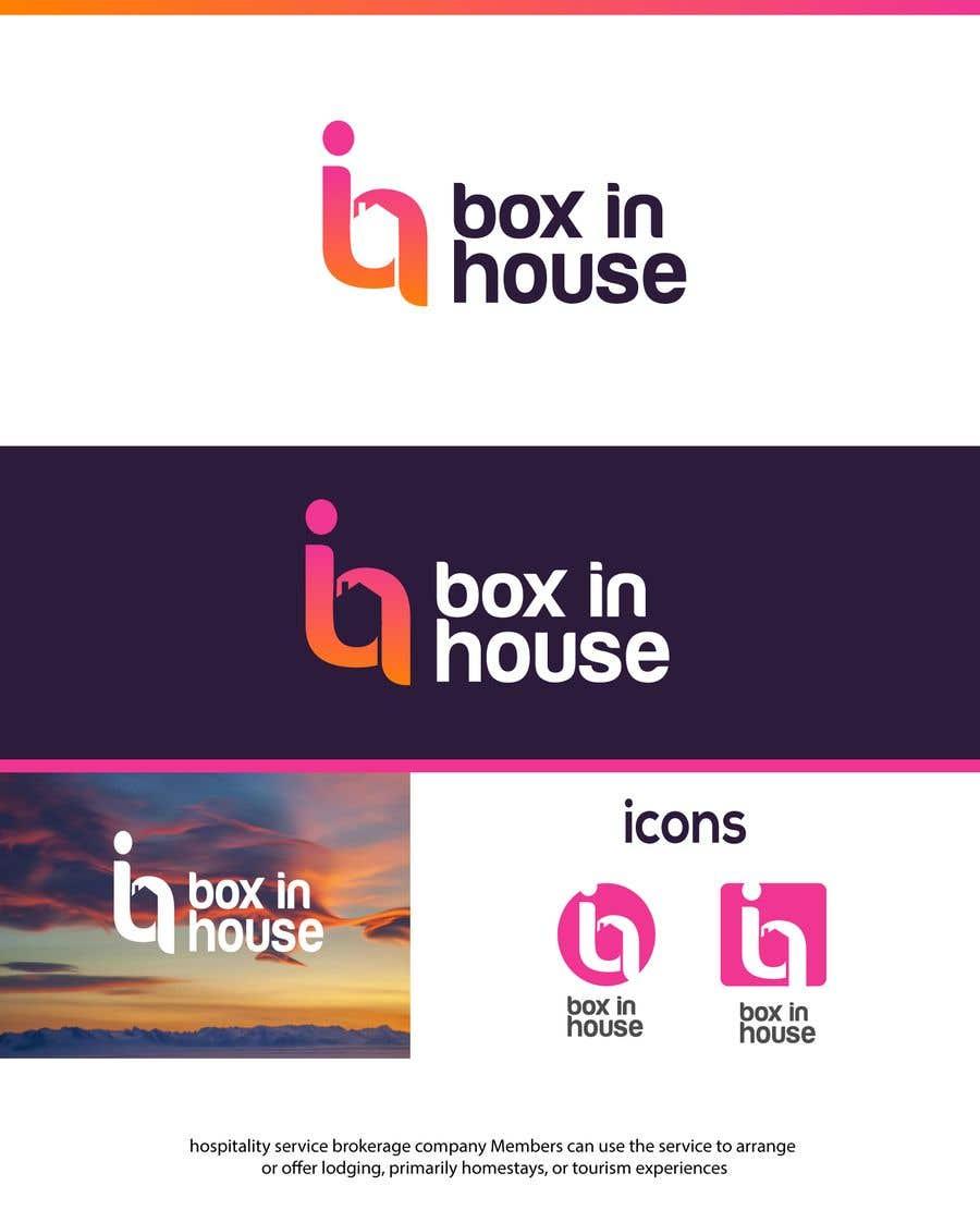 Konkurrenceindlæg #64 for Logotipo para el proyecto - BoxInHouse