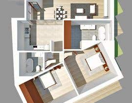 #11 для Interior design and floor plan for city apartment от ssquaredesign