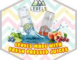 #7 pentru Levles Beverage Company ProMo sticker de către foujdarswati6