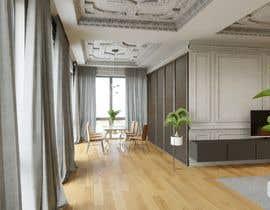 #19 for living area Interior design af vlado77
