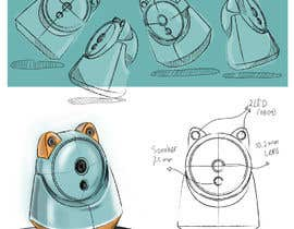 #7 for Design a fashionable camera enclosure (concept drawing) af abdillahfnoor