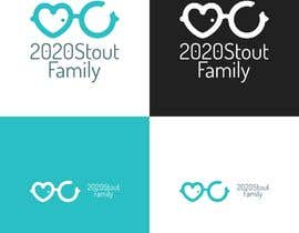 #23 para I'm looking for a family reunion logo that will take place in 2020. So something with 2020, a perfect vision, maybe with glasses, and the family name: Stout  por charisagse