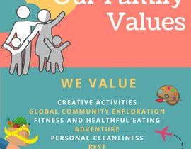 #44 for Family Values Poster by GraceYip