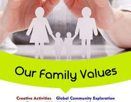 #49 for Family Values Poster by jahfar644