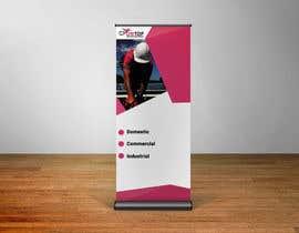 Nro 15 kilpailuun I need a pull up banner designed for our company käyttäjältä Hasnainbinimran