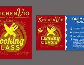 nº 12 pour To design a QUALITY Business Logo & Business Card for Cooking Class Company par adelheid574803