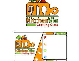 nº 8 pour To design a QUALITY Business Logo & Business Card for Cooking Class Company par MFGraphicDesign