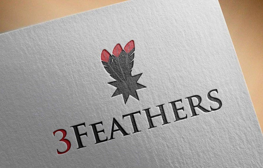 Konkurrenceindlæg #                                        87                                      for                                         Design a Logo for 3 Feathers Star Quilts