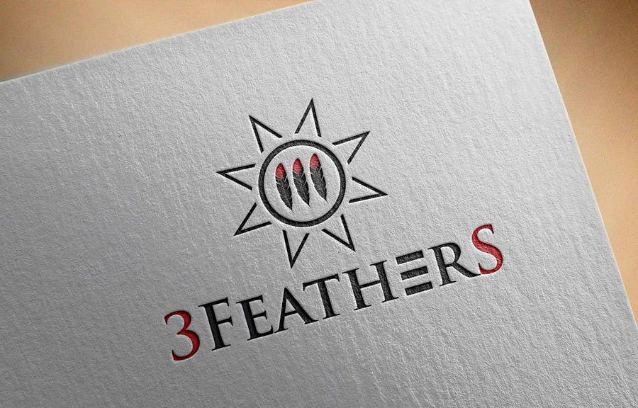 Konkurrenceindlæg #                                        104                                      for                                         Design a Logo for 3 Feathers Star Quilts