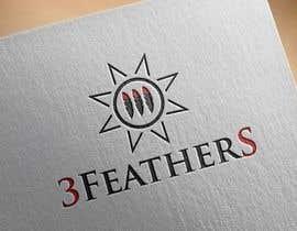 #152 for Design a Logo for 3 Feathers Star Quilts af dreamer509