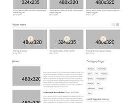 #22 for Website Homepage Design Contest by tousifrezaobhi