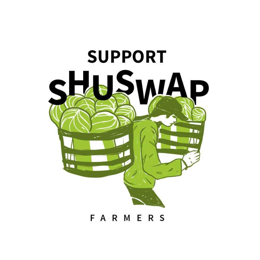 Inscrição nº 25 do Concurso para Support Shuswap Farmers - tote bag design