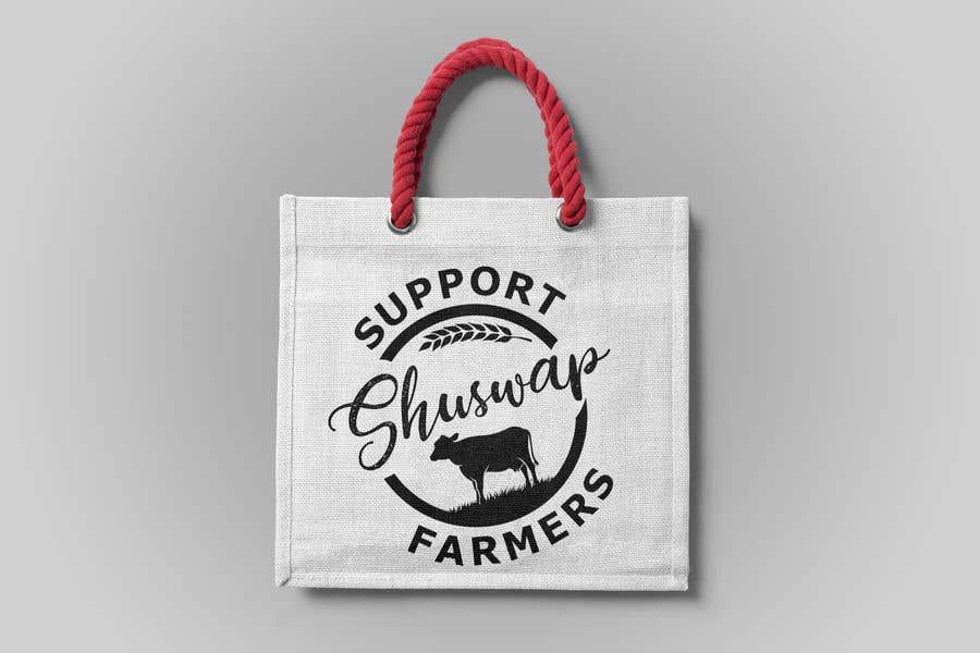 Inscrição nº 22 do Concurso para Support Shuswap Farmers - tote bag design
