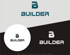 Nro 768 kilpailuun Logo for a construction company BUILDR käyttäjältä masimpk