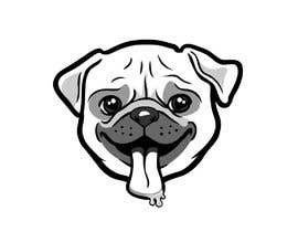 #46 для Logo design of dog head with tongue sticking out от odiman