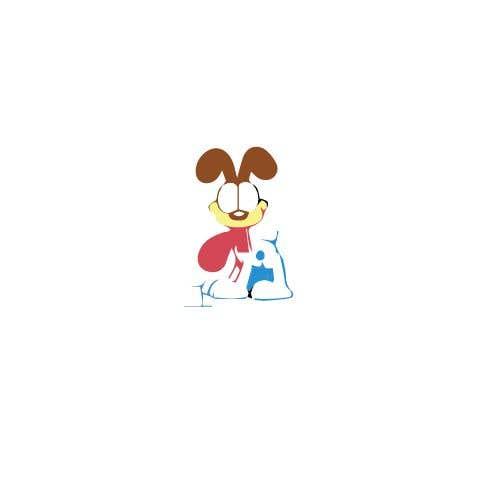 Конкурсная заявка №35 для Logo design of dog head with tongue sticking out