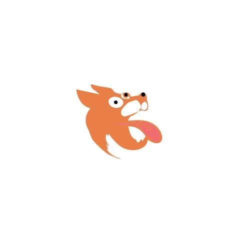 Конкурсная заявка №36 для Logo design of dog head with tongue sticking out