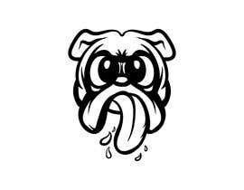 #31 для Logo design of dog head with tongue sticking out от HohoDesign