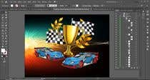 Graphic Design Contest Entry #4 for Make a Watercolor Race Car design in Vector file
