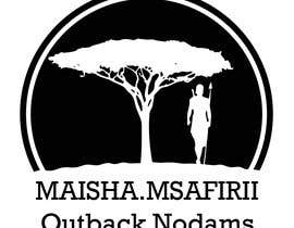 nº 16 pour Maisha.msafirii Logo Design for outback nomads par Astry9