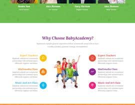 nº 1 pour StarZone Baby Academy website designer needed par jahangir505