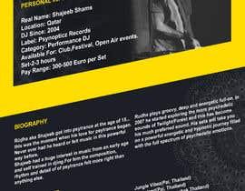 Nro 4 kilpailuun DJ protofolio käyttäjältä saviyaa