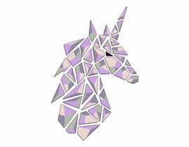 #94 for Create Geometric Unicorn Logo by AntonLevenets