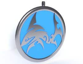 #24 untuk Stainless Steel Jewelry Designs - Shark Oil Diffuser Locket oleh Christek