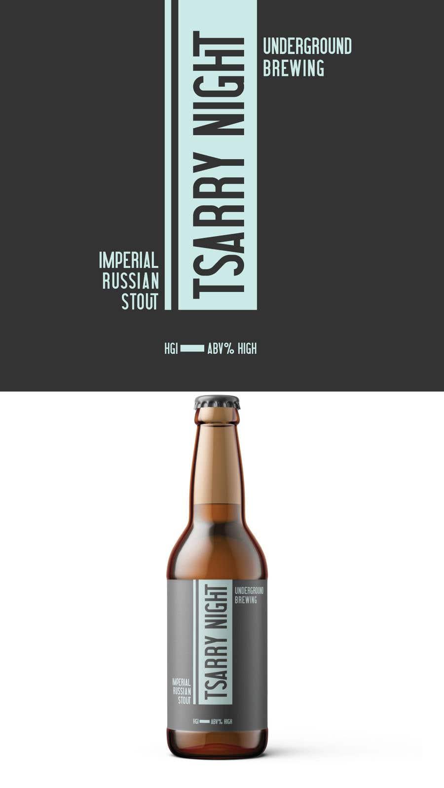 """Intrarea #8 pentru concursul """"Design beer bottle labels"""""""