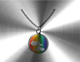 #22 untuk Stainless Steel Jewelry Designs - Rainbow / Clouds Oil Diffuser Locket oleh imrovicz55