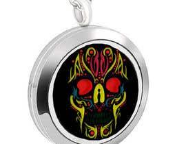 elijoli1985 tarafından Stainless Steel Jewelry Designs - Sugar Skull Oil Diffuser Locket için no 17