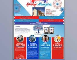 #22 для 4TH OF JULY THEMED 5 DAY EVENT ITINERARY FLYER NEEDED от d3stin
