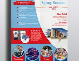 #44 для 4TH OF JULY THEMED 5 DAY EVENT ITINERARY FLYER NEEDED от rakib2375