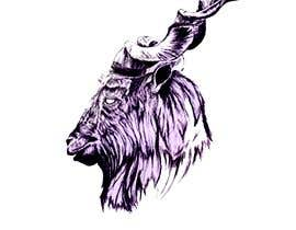 #16 для I would like a logo 2D or 3D of the head of a Markhor. I would like the beard of the markhor to be colorful. от OdayAdly
