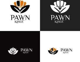 nº 86 pour Logo Design Pawn Kings par charisagse