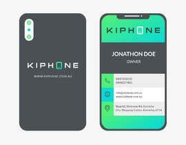 Nro 497 kilpailuun KIPHONE BUSINESS CARD käyttäjältä shakilaiub10