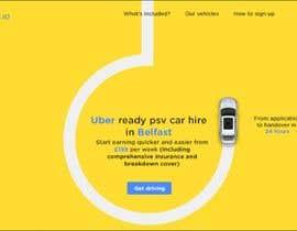shosharabi tarafından Build a website design for a taxi/ car leasing business için no 78