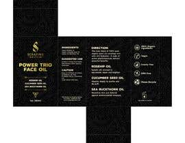 #98 for Label and Box Design for Face Oil by usman661149