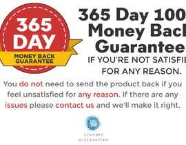 #3 для Infographic needed for money back guarantee от LouieEj