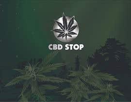 Nro 183 kilpailuun CBD Stop Logo käyttäjältä dulhanindi