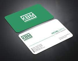 #18 para Design a Logo & Business Cards for KBM | Diseño de Logo y Tarjetas para KBM por eiasinalam40