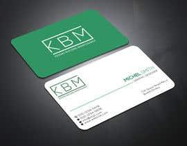 #19 para Design a Logo & Business Cards for KBM | Diseño de Logo y Tarjetas para KBM por eiasinalam40
