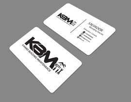 #42 para Design a Logo & Business Cards for KBM | Diseño de Logo y Tarjetas para KBM por Soroarhossain09
