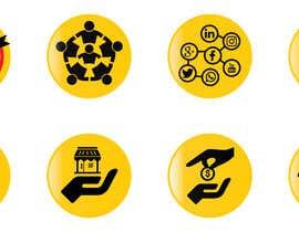 #11 for Get / Design 8 icons (symbols) af cretivedesigns